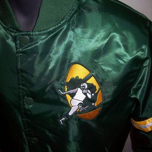 GREEN BAY PACKERS Throwback Snap Down Jacket
